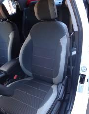 MW Brothers KIA Rio III sedan (2011-2017), светлые вставки + серая нить