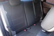 Фото 7 - Чехлы MW Brothers KIA Rio III sedan (2011-2017), светлые вставки + серая нить