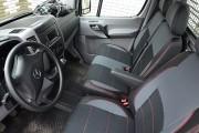Фото 8 - Чехлы MW Brothers Mercedes-Benz Sprinter W906 (2006-н.д.), грузовой (1+2), красная нить