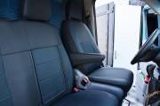 фото 4 - Чехлы MW Brothers Mercedes-Benz Sprinter W906 (2006-н.д.), грузовой (1+2), синяя нить