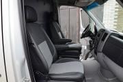 Фото 6 - Чехлы MW Brothers Volkswagen Crafter Casten (2006-2016), грузовой (1+1), серая нить