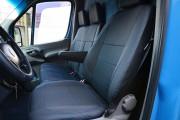 фото 2 - Чехлы MW Brothers Volkswagen Crafter Casten (2006-2016), грузовой (1+2), синяя нить