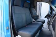 фото 3 - Чехлы MW Brothers Volkswagen Crafter Casten (2006-2016), грузовой (1+2), синяя нить
