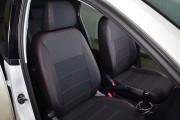 Фото 2 - Чехлы MW Brothers Volkswagen Polo sedan (2009-н.д.), красная нить