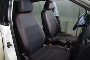 Фото 3 - Чехлы MW Brothers Volkswagen Polo sedan (2009-н.д.), красная нить