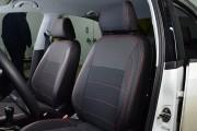 Фото 4 - Чехлы MW Brothers Volkswagen Polo sedan (2009-н.д.), красная нить