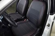 Фото 5 - Чехлы MW Brothers Volkswagen Polo sedan (2009-н.д.), красная нить