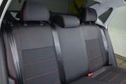 Фото 6 - Чехлы MW Brothers Volkswagen Polo sedan (2009-н.д.), красная нить