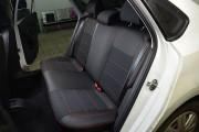 Фото 8 - Чехлы MW Brothers Volkswagen Polo sedan (2009-н.д.), красная нить