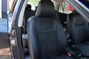 Фото 7 - Чехлы MW Brothers Toyota Corolla (E150) (2007-2013), черная алькантара + серая нить