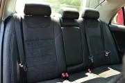 Фото 8 - Чехлы MW Brothers Toyota Corolla (E150) (2007-2013), черная алькантара + серая нить
