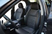 Фото 2 - Чехлы MW Brothers Toyota Corolla (E150) (2007-2013), алькантара графит + серая нить