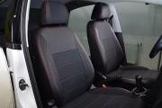 Фото 2 - Чехлы MW Brothers Volkswagen Polo V Hatchback (2009-н.д.), красная нить