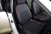 Фото 3 - Чехлы MW Brothers Volkswagen Polo V Hatchback (2009-н.д.), красная нить