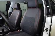 Фото 4 - Чехлы MW Brothers Volkswagen Polo V Hatchback (2009-н.д.), красная нить