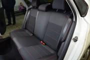 Фото 5 - Чехлы MW Brothers Volkswagen Polo V Hatchback (2009-н.д.), красная нить