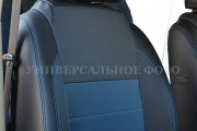 Фото 4 - Чехлы MW Brothers Volkswagen Polo V Hatchback (2009-н.д.), синяя нить