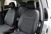 Фото 4 - Чехлы MW Brothers Volkswagen Polo V Hatchback (2009-н.д.), серая нить